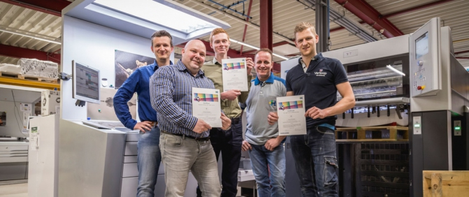 Met succes behaald! Print Color Managent